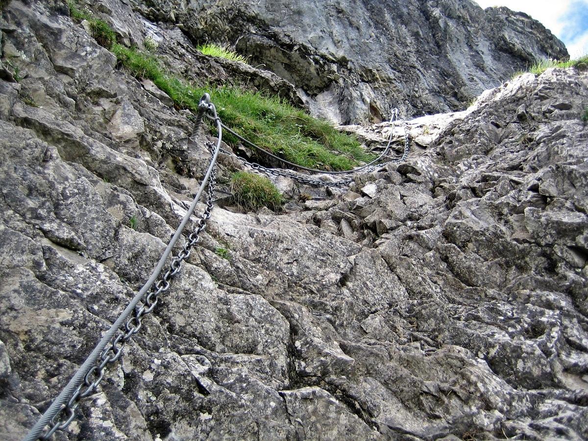 Klettersteig Adelboden : Chäligang klettersteig in adelboden « fels